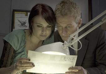 Emily Barclay & Richard Roxburgh, The Silence