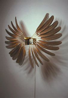 Rebecca Horn, Large Feather Wheel, 1997