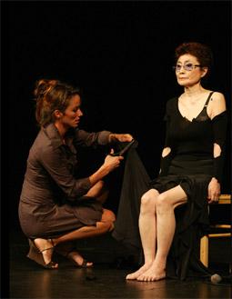 Cut Piece 2003, Yoko Ono
