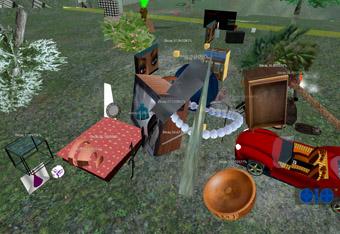 SecondLife Dumpster, Eteam, 2007-2009
