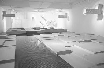Anton Hart, George Popperwell, The Cloak Room, installation detail