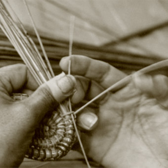Kumarangk weaving, Jessica Wallace