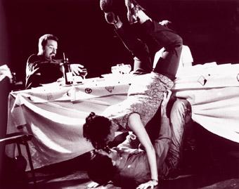 Stephen Klinder, Daniele Antaki, Rohan Thatcher, The second Last Supper