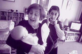 Christina Heristanidis and her mum, Christina, Dear Bert