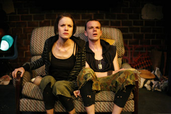 Elizabeth Haslam, James O'Connell, Hoods, Street Theatre/NORPA
