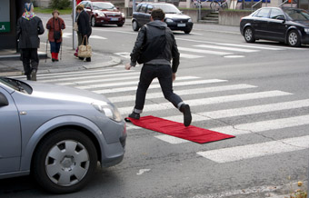 The Red Carpet Treatment, Vincent Chevalier; ANTI - Contemporary Art Festival, Kuopio, Finland
