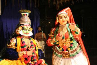Kathkali Dance Ensemble, part of Womadelaide