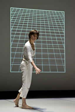 Elena Gianotti in Episodes of Flight, 2008 by Rosemary Butcher and Cathy Lane