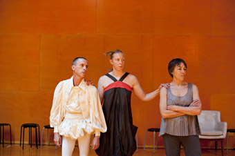 'wildcard' performers Trevor Patrick, Joanna Lloyd, Helen Herbertson, Full Colour