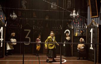 Willem Dafoe, Alenka Kraigher and the company, Idiot Savant