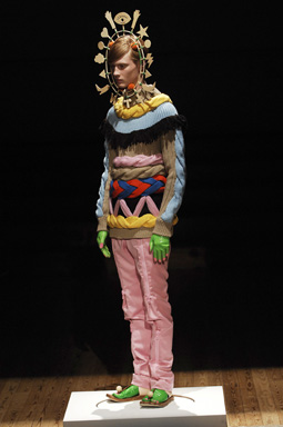 Jumper, leggings, hat and gloves no.19 a/w 2008-2009, Walter Van Beirendonck, The Endless Garment