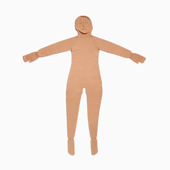 The Perfect Body, 2007, Freddie Robbins, machine knitted wool, 1920 x 1640 mm, produced through support from the Arts and Humanities Research Council (AHRC) and the Royal College of Art Research Development Fund