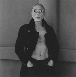 A performer of Butoh dance from the series Persona, Hiroh Kikai 2001