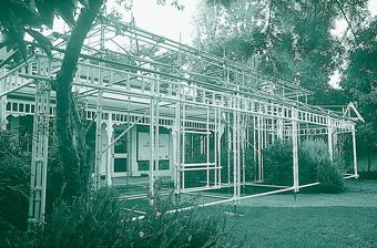 domus 1, Jonathan Dady, Construction Drawings (detail)