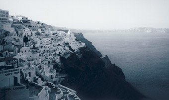 Santorini, view from Fira