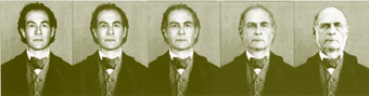 Morphing from Brian Lipson to Francis Galton, A Large Attendance in the Antechamber