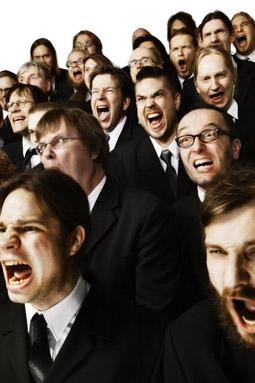 Mieskuoro Huutajat (Shouting Men's Choir)