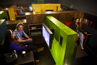 ACMI Mediatheque, photo courtesy of Australian Centre for the Moving Image