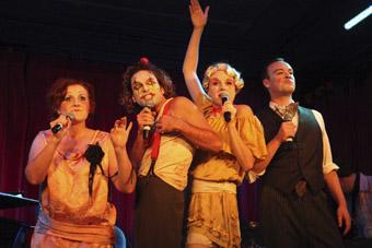 Eliza Logan, Josh Quong Tart, Vashti Hughes, David Keene, Vashti Hughes Ensemble, The Wild Party