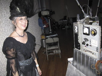 A steam punk fairy godmother at Plutopia