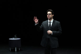 Jason Klarwein, Thom Pain (based on nothing), Queensland Theatre Company