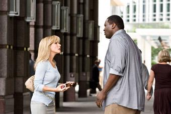 Sandra Bullock, Quinton Aaron, The Blind Side