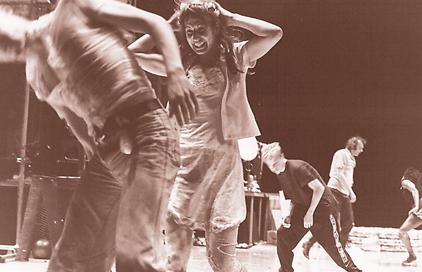 Les Balletts C de la B, iets op bach