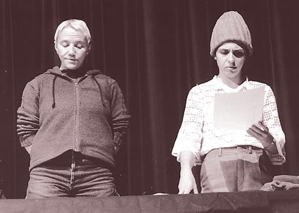 Ruth Bauer & Katia Molino in Hotel Obsino