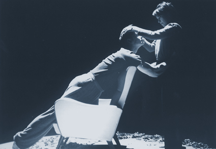 Michael O'Donoghue and Wendy McPhee in The Fragile Garden