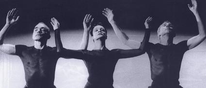 Sabine Kupferberg, Gérard Lemaitre and Gary Chryst, Nederlands Dans Theater III
