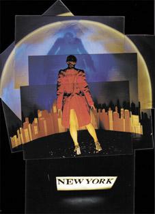 Jacklyn Bassanelli, Pink Denim in Manhattan