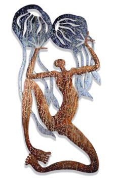 Arone Meeks, Irukanji, 2004, Sculpture