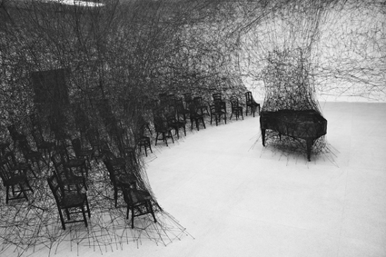 Chiharu Shiota, Biel Klavier