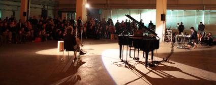 Rupert Huber, Franz Hautzinger, Sound Space, Ars Electronica 2010