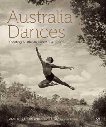 Australia Dances cover, Dancer, William Harvey