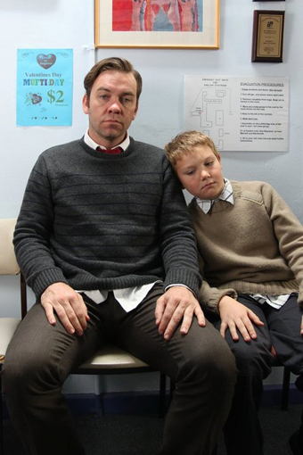 Brendan Cowell and Charlie Fraser, Bee Sting
