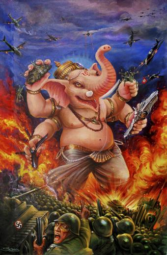 Ganesh Versus the Third Reich, Limona Studios, Mumbai