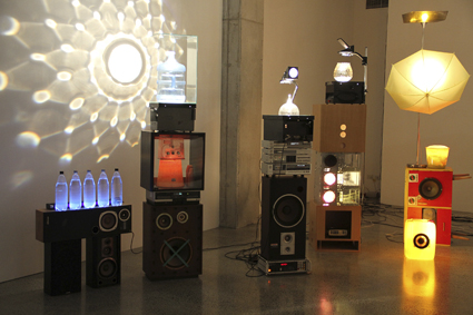 Wade Marynowsky, Bricolage Disco, 2010,ST PAUL St Gallery, Auckland, New Zeland