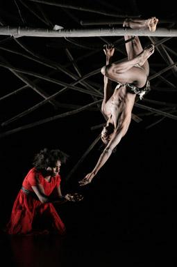 Elma Kris, Patrick Thaiday, Mathinna, Bangarra Dance Theatre