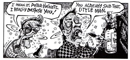 Shut Up Little Man! An Audio Misadventure, director Matthew Bate