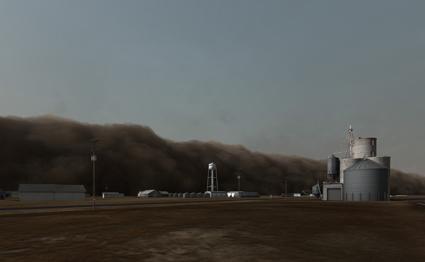 John Gerrard, Dust Storm (Dalhart, Texas), 2007, 2007, Realtime 3D