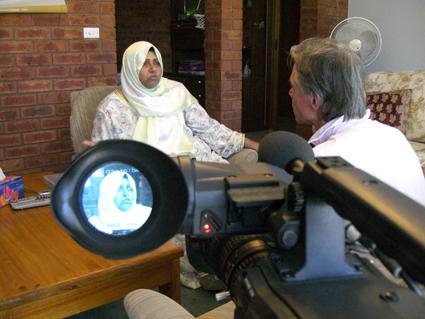 Amal Basry with Steve Thomas, Hope
