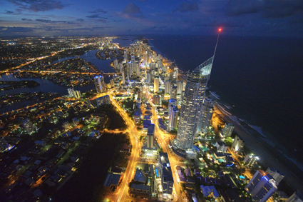 Surfers Paradise, Queensland, Australia, NOW
