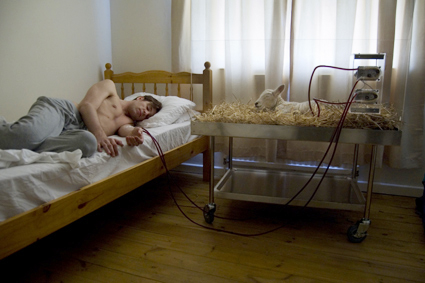 Life Support: Dialysis Sheep, 2009, Revital Cohen