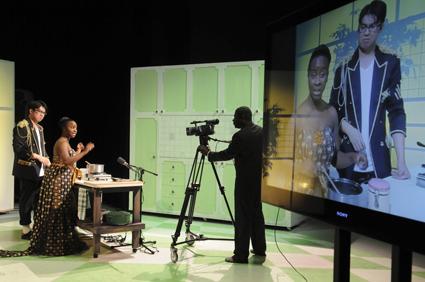 Alan Lao, Effie Nkrumah, Frank Mainoo, Ama and Chan, Urban Theatre Projects