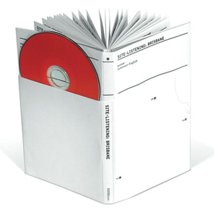 """ite-Listening: Brisbane, Guidebook and 3"""" CD, Room 40"""