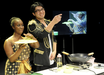 Effie Nkrumah, Alan Lao, Ama and Chan, Urban Theatre Projects