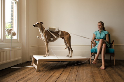 Life Support: Ventilation Dog, 2009, Revital Cohen