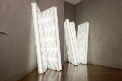 Jonathan Jones, Untitled (muyan) 2011 Sydney, New South Wales light emitting diodes (LEDs), glass, aluminum Felton Bequest 2011