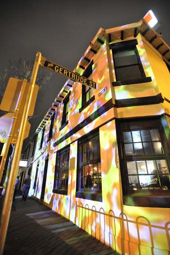 Ian de Gruchy, Gertrude Hotel